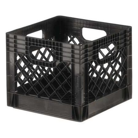 Orbis 40 lb Capacity, Dairy Crate, Black DA1000 (Black Crate)