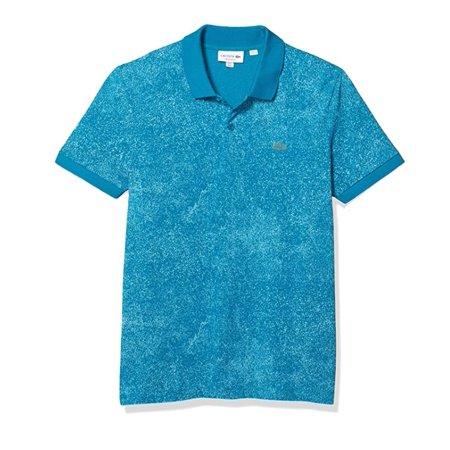 Lacoste Men's Motion Premium Pique Polo Shirt in Blue