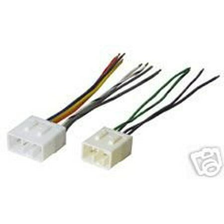 stereo wire harness mazda mx-6 mx6 93 94 95 96 97 (car radio wiring  installation parts) by carxtc ship from us - walmart com