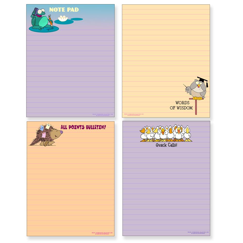 Cat Design Memo Note Pad /' Water Feature /' Mum Gift Gardening Home Office NEW