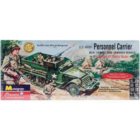 Plastic Model Kit-Personal Carrier Half - Half Track Personnel Carrier
