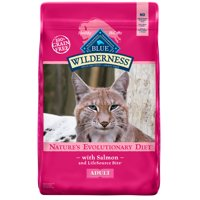 [Multiple Sizes] Blue Buffalo Wilderness Salmon High Protein Grain Free Adult Dry Cat Food