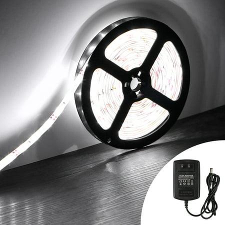 TSV Waterproof LED Strip Lights SMD 3528 16.4 Ft/5M ...