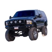 Road Armor 66002B RDA66002B 99-04 FORD SUPER DUTY FRONT STEALTH WINCH BUMPER, TITAN II GUARD, SATIN BLACK