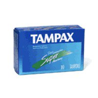 - Tampax Tampons With Flushable Applicator, Super Absorbancy - 10 Each