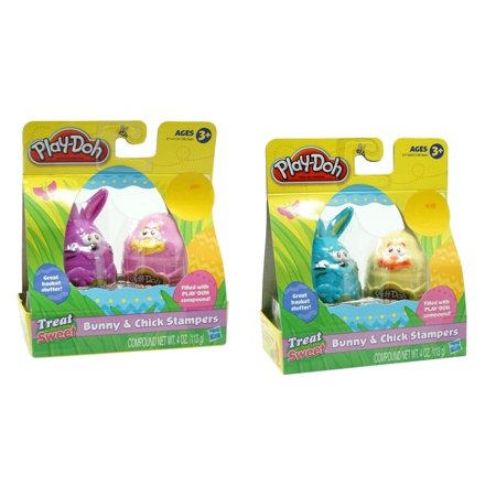 Hasbro Play Doh Bunny and Chick Stampers (Set of 4)](Happy Halloween Playboy Bunny)