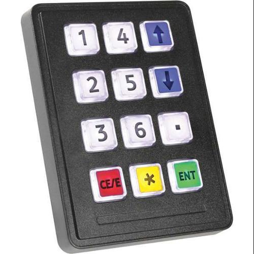 Illuminated Keypad, Storm Interface, 720 GFXI 12 KEY