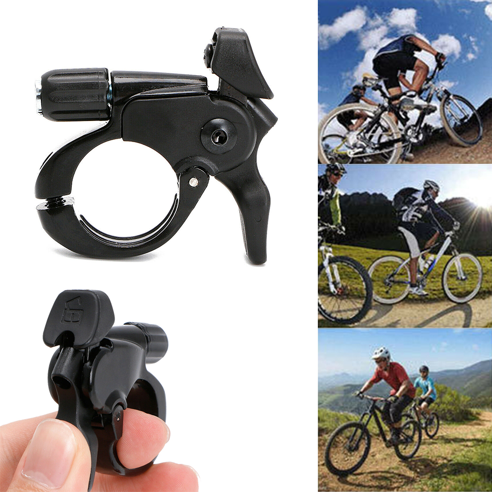 Details about  /Wire Fork Remote Control Switch Cycling Road Bicycle Lock Button Aluminum Alloy