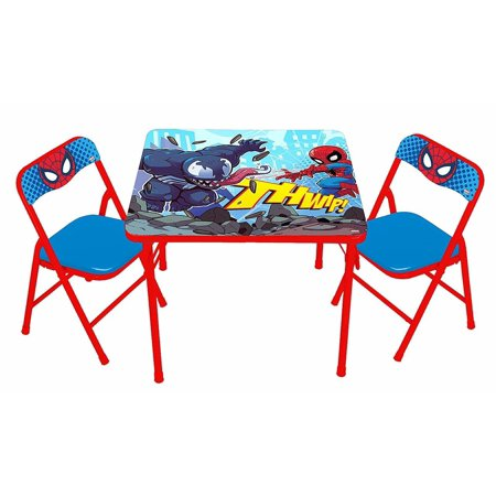 Spider-man Superhero Adventures Erasable Activity Table Set