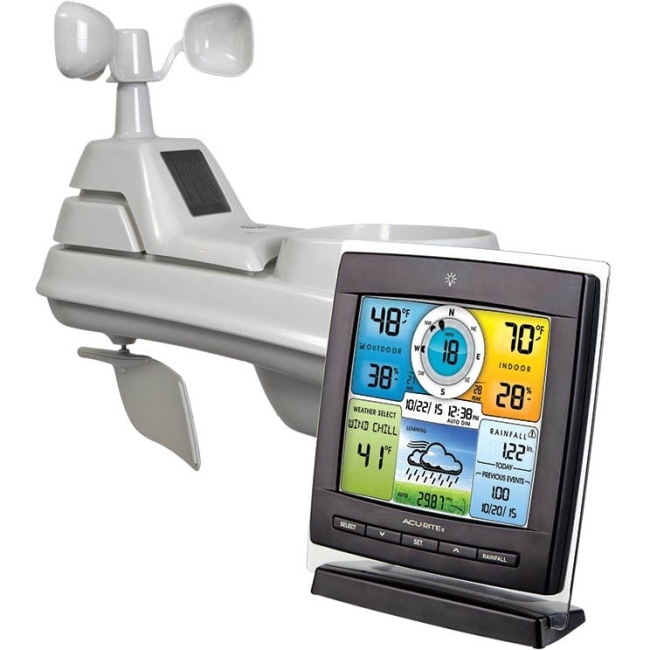 Acu-Rite 5-In-1 Color Weather Station