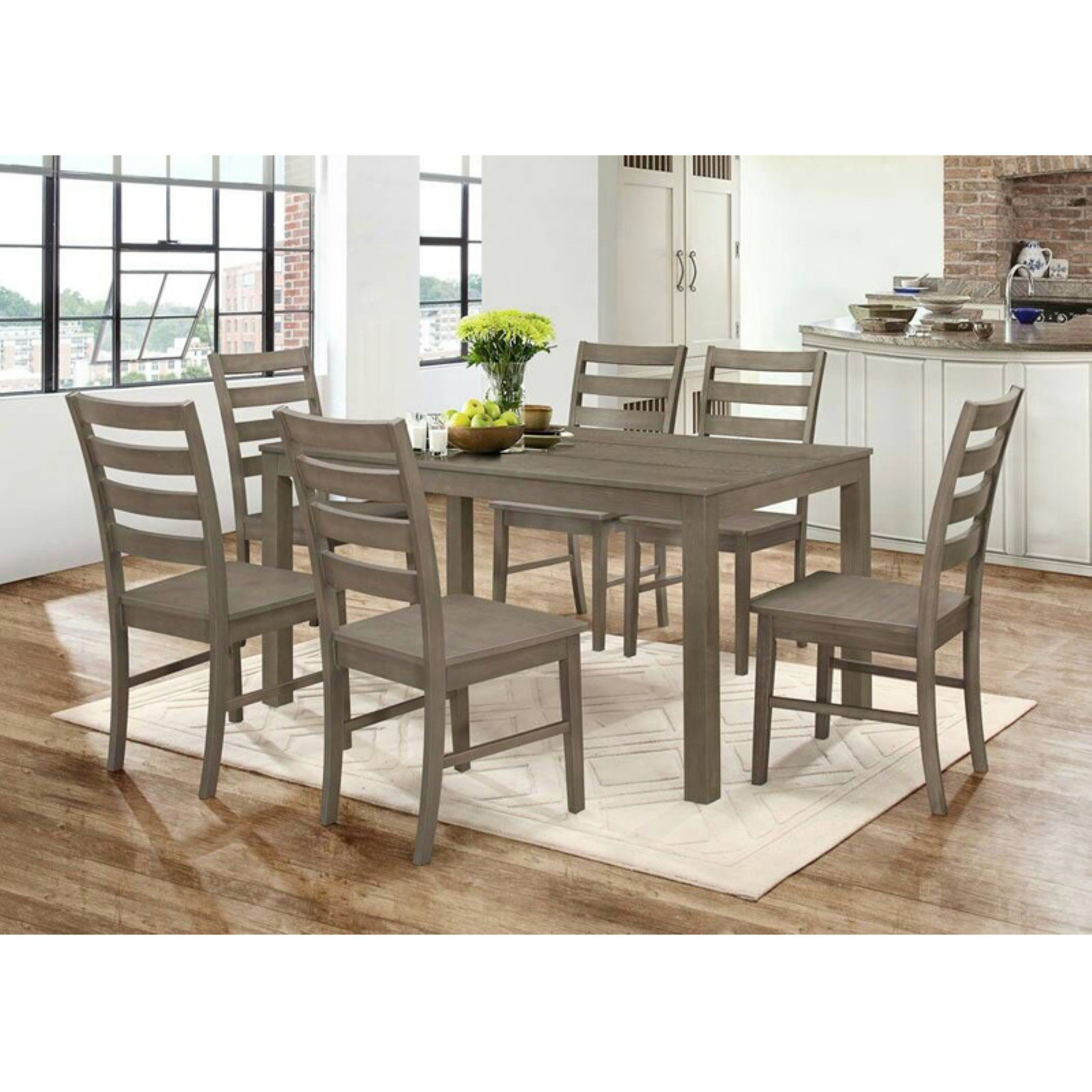 Ideal 7 Piece Dining Table Set