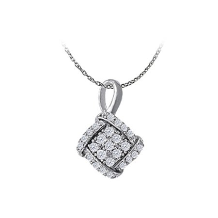Stylish Jewelry Cubic Zirconia Pendant 925 Sterling Silver Available At Economical Price Range