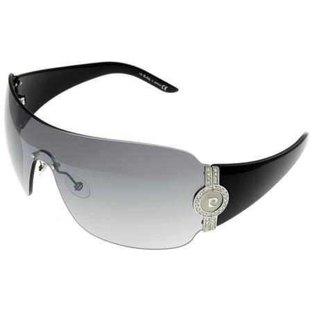 baa8bbca37b Pierre Cardin - Pierre Cardin Sunglasses Unisex P.C. 8703 S SWY Silver Black  Shild Size  Lens  Bridge  Temple  99-01-115 - Walmart.com