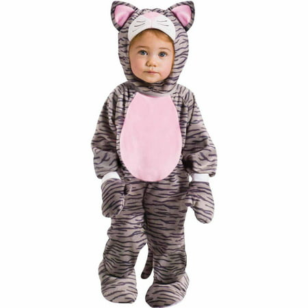 Little Stripe Kitten Infant Halloween - Kitteh Halloween