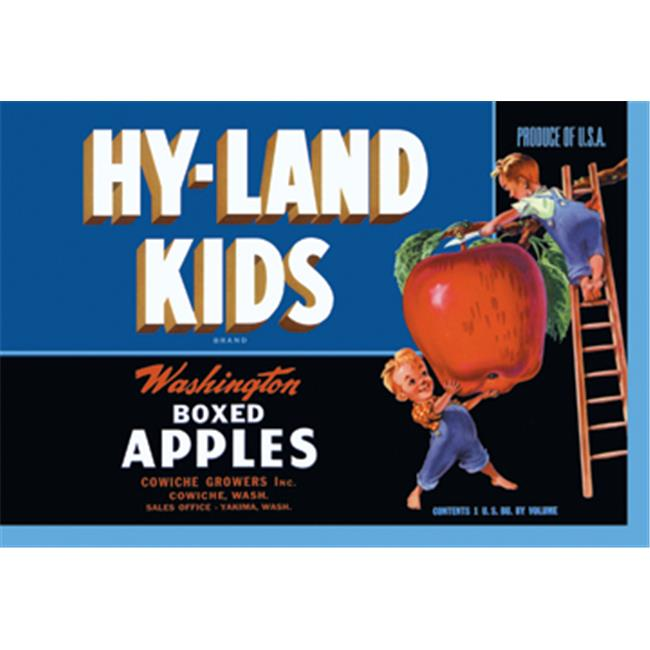 Buy Enlarge 0-587-12893-3P20x30 Hy-Land Kids Brand Apples- Paper Size P20x30