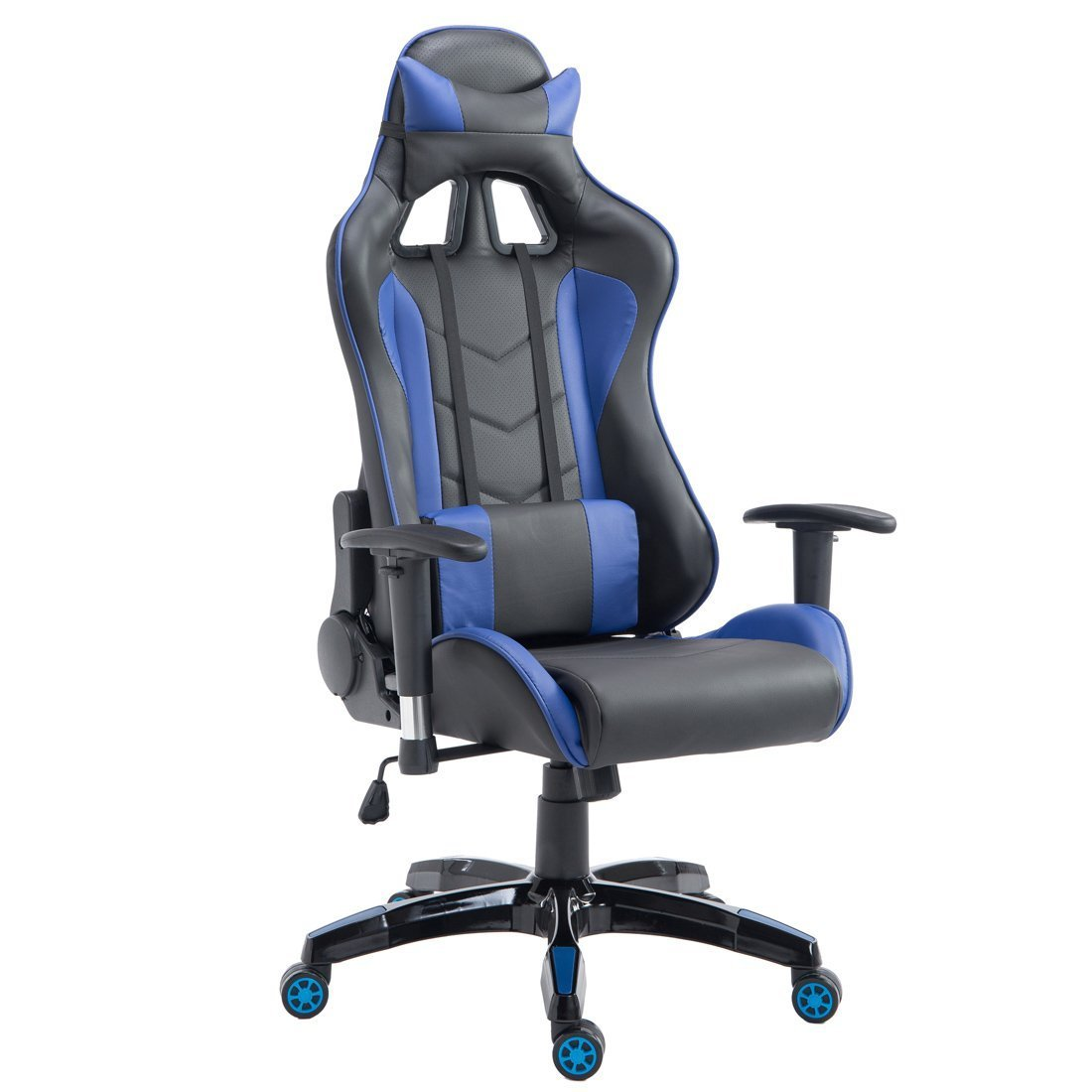 GOOD LIFE Ergonomic Office Chair Swivel Computer Gaming Chair Executive Business Seat (Blue)