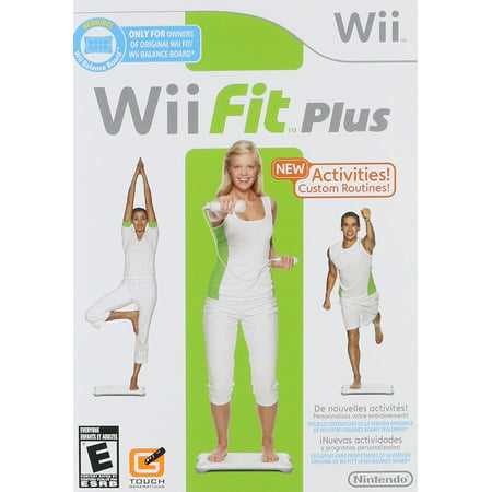 Wii Fit Plus (Nintendo Wii) GAME ONLY - Pre-Owned