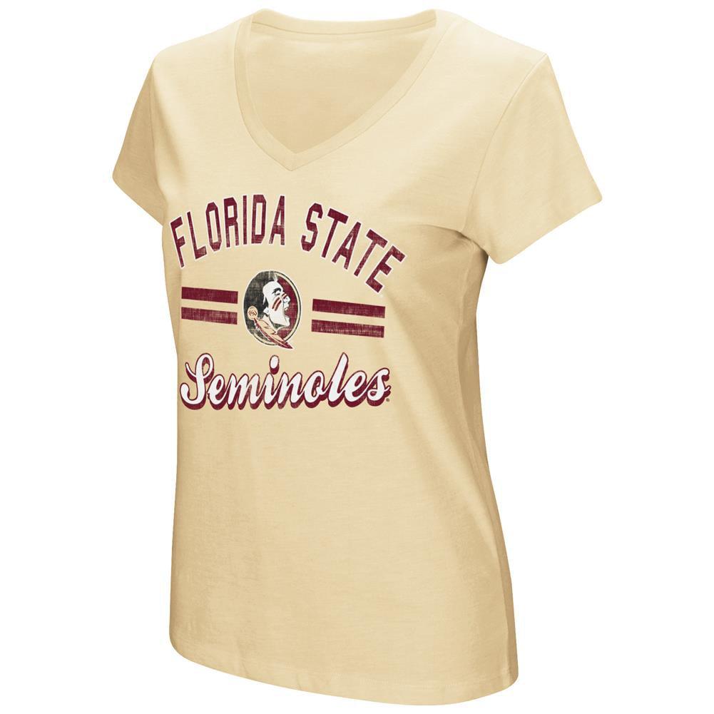 Women's Hurdle Short Sleeve FSU Florida State University Graphic Tee