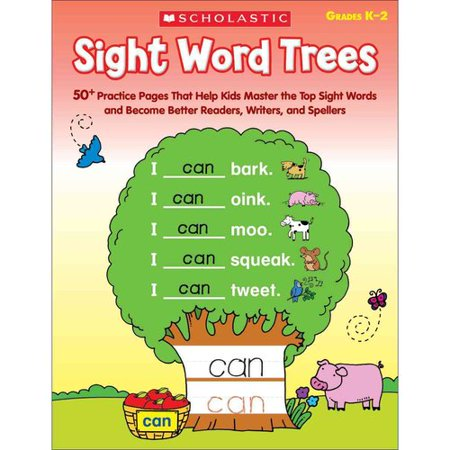 Sight Word Trees  Grades K 2