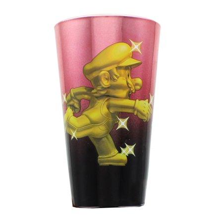 Super Mario Bros. Gold Mario Metal Plated Pint (Super Glasses)