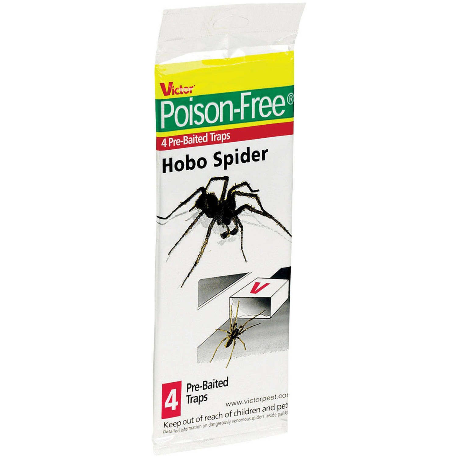 Poison Free M293 Hobo Spider Trap, 4-Count