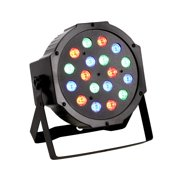 CoastaCloud Led Par Can Disco Lights High Power 18LED Par Lights for Stage Lighting with RGB Magic Effect by DMX512