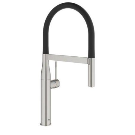 Grohe 30295DC0 Essence Pullout Spray Single Hole Kitchen Faucet, SuperSteel - image 1 of 1
