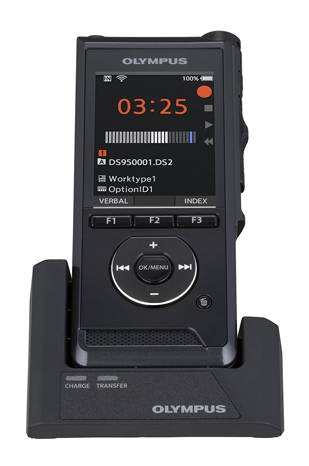 Olympus DS-9500 WiFi Digital Dictation Voice Recorder by Olympus