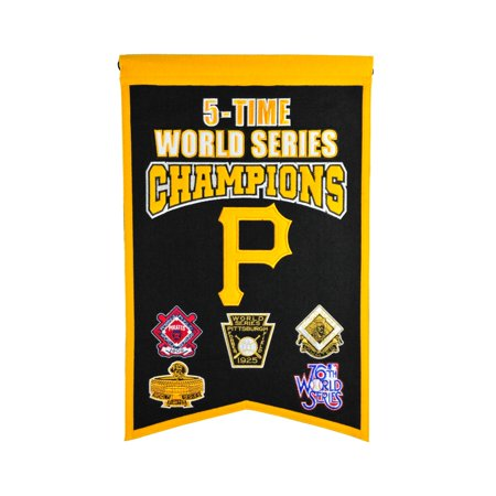 Winning Streak - MLB Champions World Series Banner, Pittsburgh (Pittsburgh Pirates World Series Champions)
