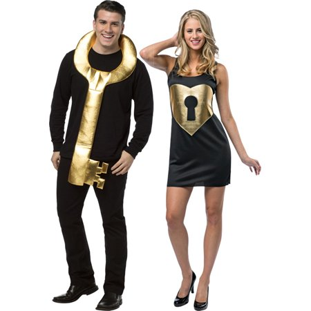 Morris costumes GC6342 Key To My Heart Couples Adult (Couple Costumes)