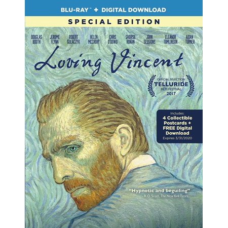Loving Vincent (Special Edition) (Blu-ray + Digital Download) (Vincent Price Halloween Special)