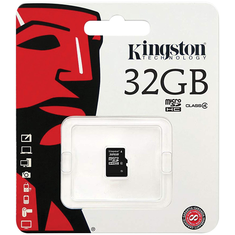 Kingston SDC4/32GBSP Class 4 microSDHC Card (32GB)