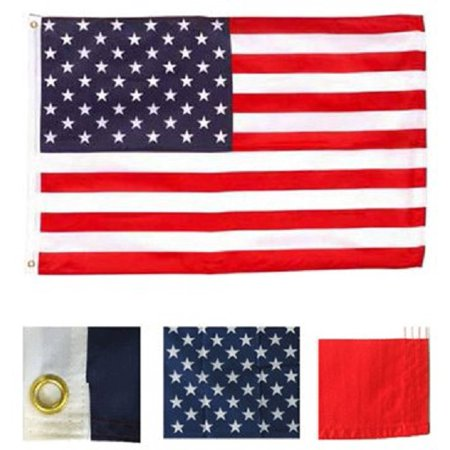 4x6 FT USA American Flag United States Polyester Banner US Pennant New Old Glory](Banner Flag)