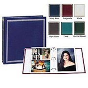 Magnetic 3 Ring Photo Album, Asst, 100 Pg - 1 Pkg