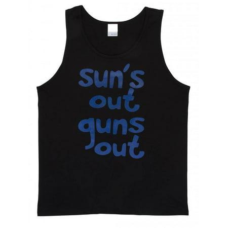Sun's Out Guns Out Beach Tank Top (Suns Out Guns Out Shirt Tank Top)