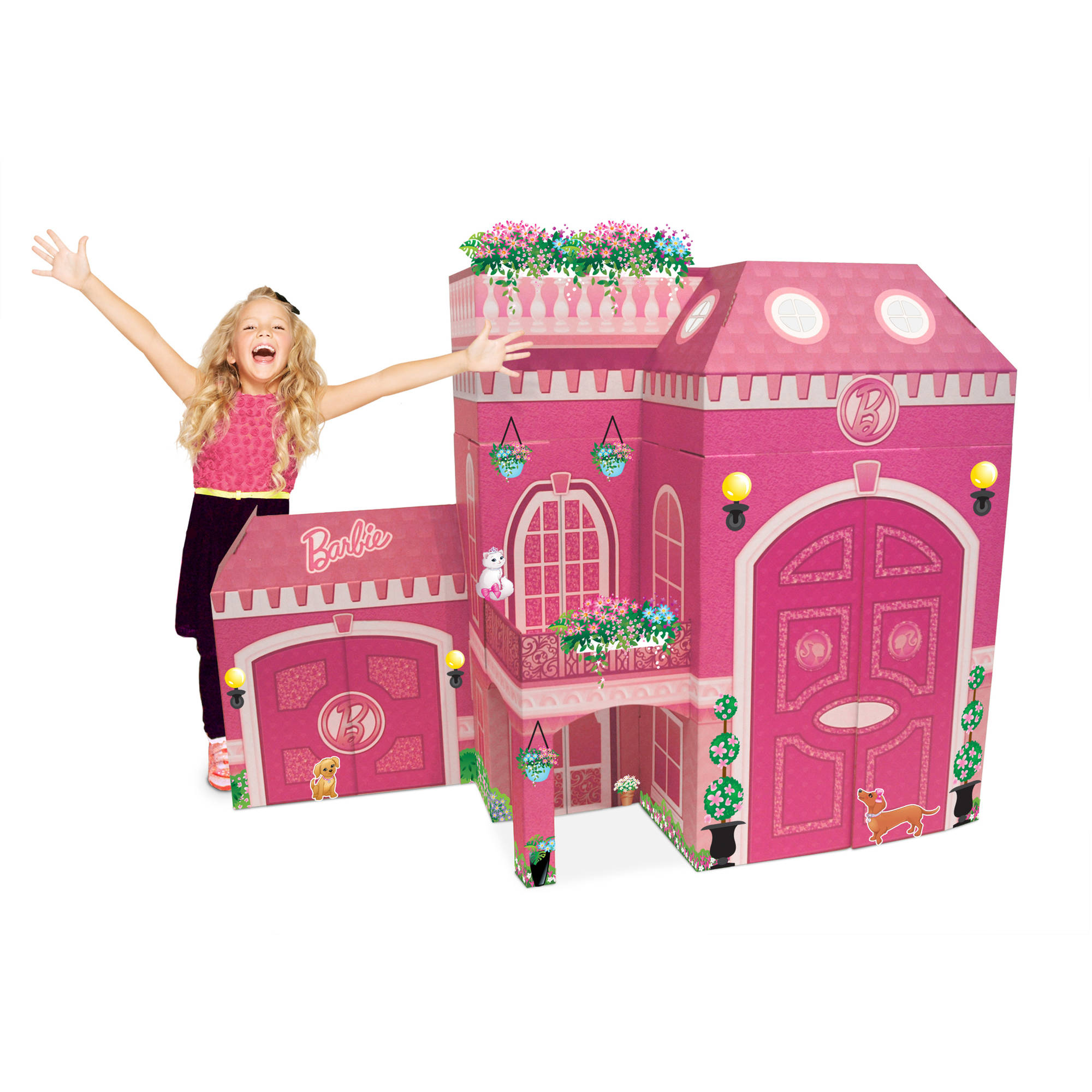 Neat Oh! Barbie Full Size Play House   Walmart.com