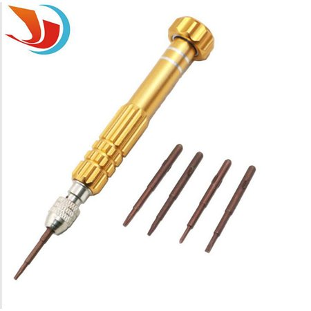 5 Mini Tool (5-in-1 Multi-function Screwdriver Set Mini Handleiding Aluminium Phone Maintain Tool)
