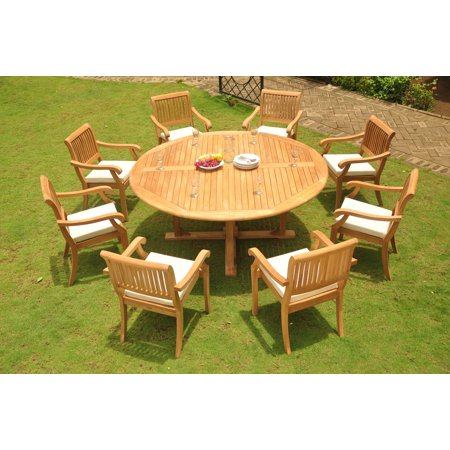 (Teak Dining Set: 8 Seater 9 Pc: 72