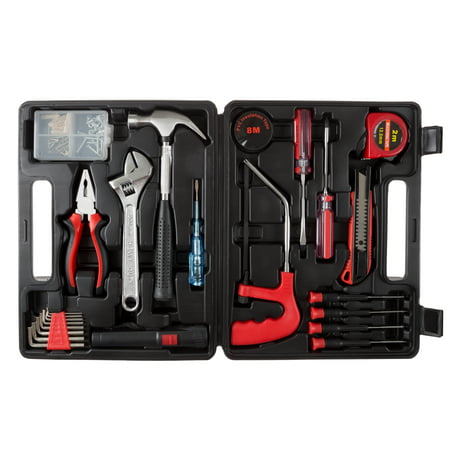 Household Hand Tools, 65 Piece Tool Set by Stalwart