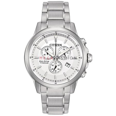 Citizen  Men´s AT2340-81A Quartz Eco Drive Analog Stainless Steel