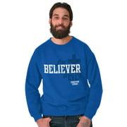 Jesus Crewneck Sweat Shirts Sweatshirts For Believer Forever Christian Religion