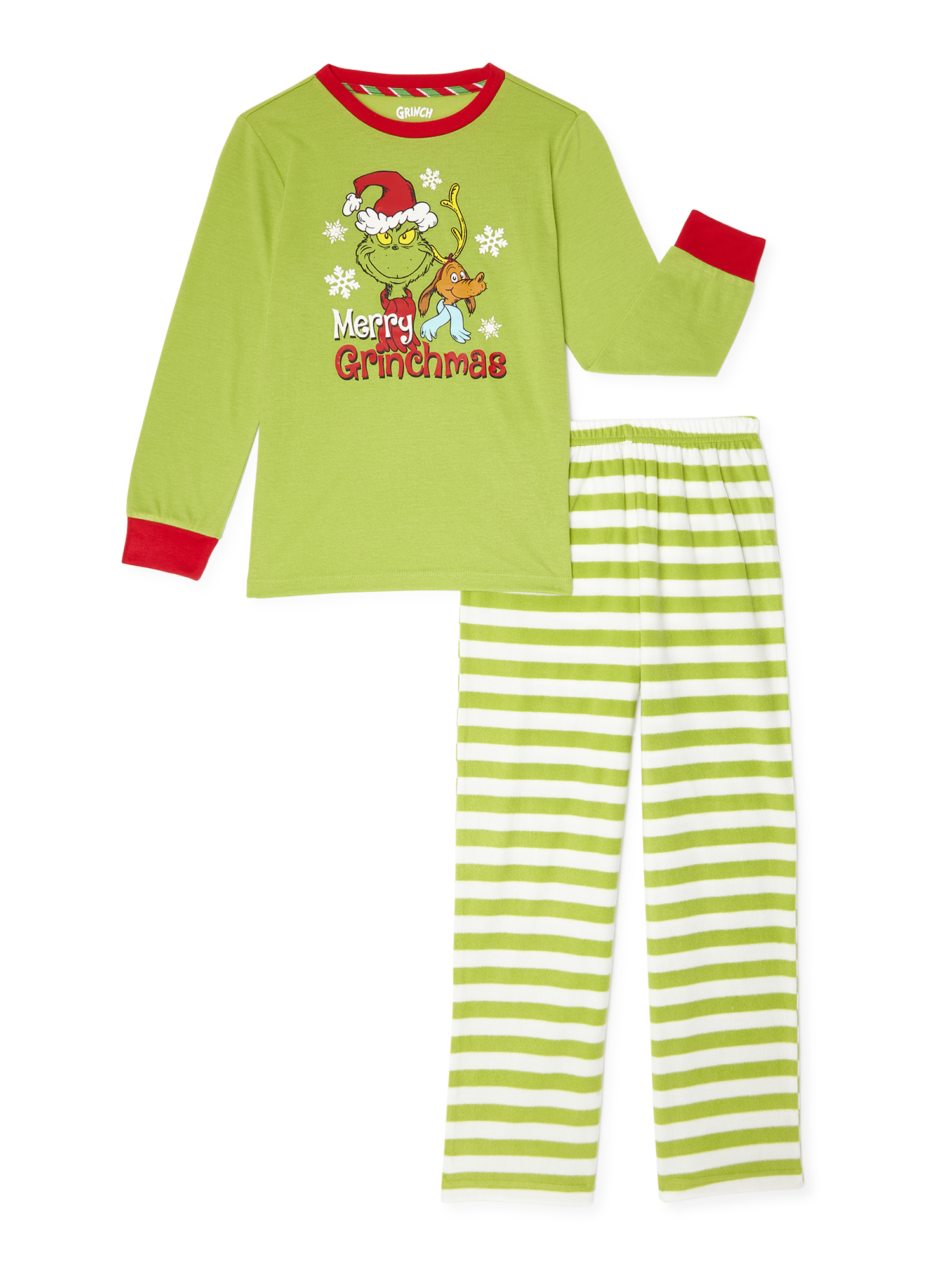 Minnie Mouse Christmas Pajamas for Toddlers Be Merry 2-Piece PJ Set
