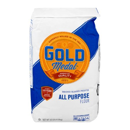 - (2 Pack) Gold Medal All-Purpose Flour 10 Lb