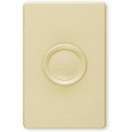 Lutron Electronics D-600PH-3K Rotary 600-Watt, Single-Pole Dimmer with 3 Knobs