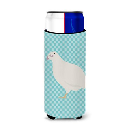 Carolines Treasures BB8131MUK Texas Quail Blue Check Michelob Ultra Hugger for Slim Cans - image 1 de 1