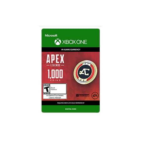 APEX Legends: 1000 Coins, Electronic Arts, Xbox, [Digital Download] (Alex Games)