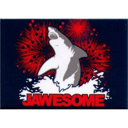 Shark Magnet (JAWESOME SHARK, Officially Licensed & Exclusively Trademarked Original Artworks Magnet SM 4510)