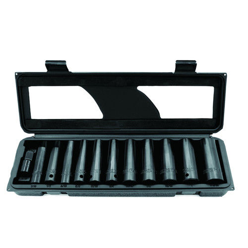 Briggs & Stratton BSAT110 12-Piece 1/2 in. Drive SAE Deep Impact Socket Set