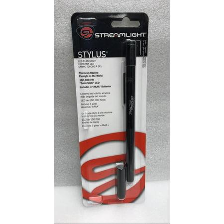 Streamlight Stylus 100K Hour LED Slim Penlight/Flashlight, Green Light - 65020
