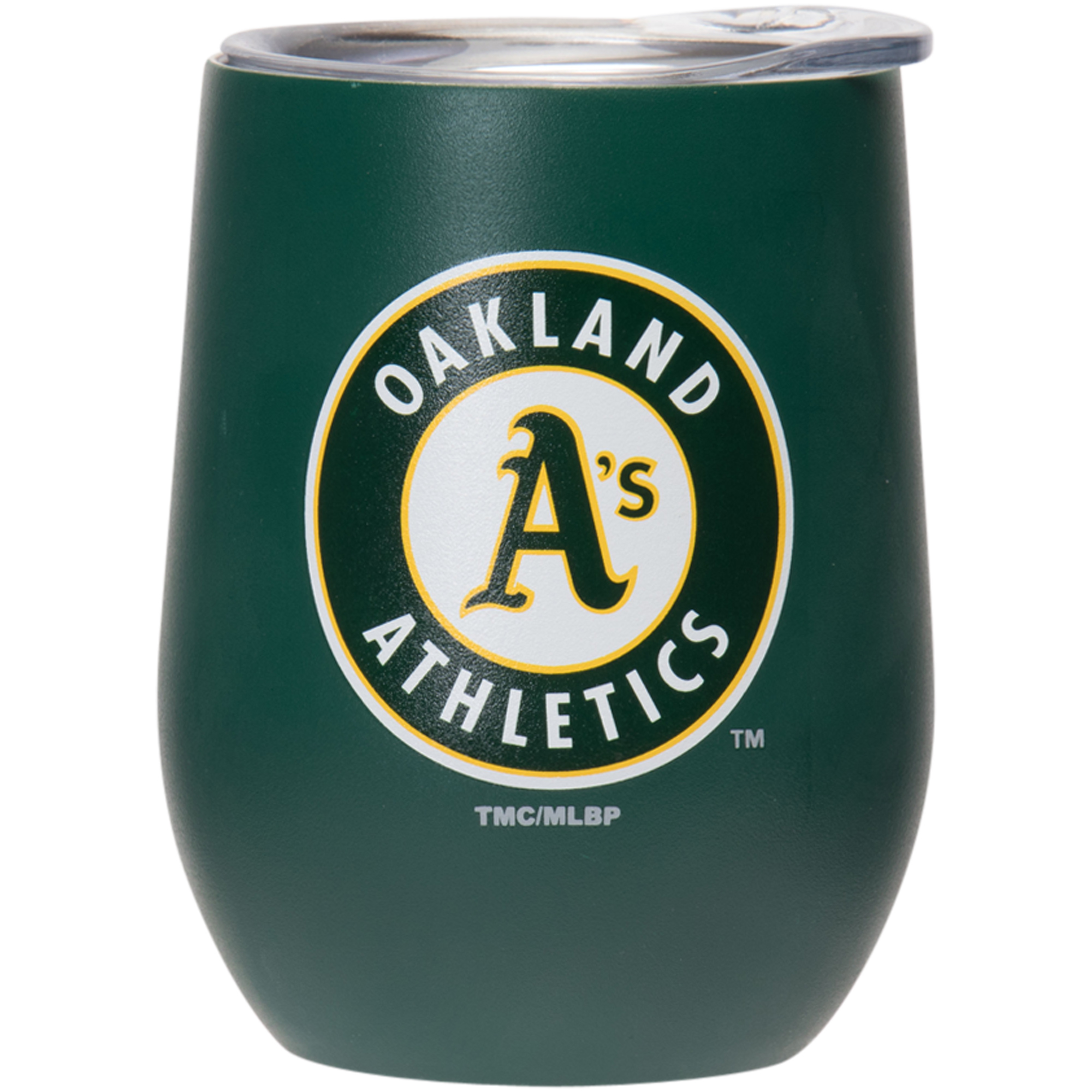 Oakland Athletics 15oz. Matte Stainless Steel Stemless Tumbler - No Size